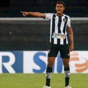 Botafogo tem interesse em manter Lucas Mezenga, emprestado pelo Nova Iguaçu
