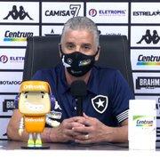 Auxiliar de Enderson elogia elenco do Botafogo após goleada sobre o Londrina: 'Compraram a nossa ideia'