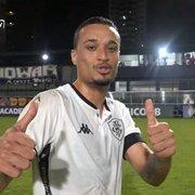 Carlinhos e Luiz Henrique celebram vitória na estreia pelo Botafogo: 'Grupo lutou até o final'