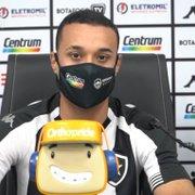 Luiz Henrique revela posição preferida e mira ajudar Botafogo: 'Cheguei para somar'