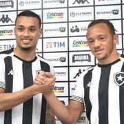 Botafogo apresenta Luiz Henrique e Carlinhos: 'Satisfação estar nesse clube gigantesco'