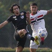 Matheus Nascimento faz golaço, e Botafogo vence São Paulo de virada nos acréscimos pelo Brasileiro Sub-20