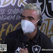 Rafael brinca: 'Se pudesse escolher, ia chamar Cristiano Ronaldo para jogar no Botafogo'