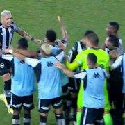 ATUAÇÕES FN: Navarro brilha, Oyama, Chay e Carli vão bem em vitória do Botafogo sobre o Sampaio Corrêa