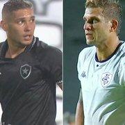 Rafael Navarro x Rafael Moura: comentarista faz comparação e vê 'desgaste tremendo' para He-Man em situações no Botafogo, o que é natural e esperado