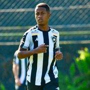 Base: Ryan celebra gol pelo Botafogo contra o São Paulo e projeta reta final do Brasileiro Sub-20