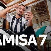 VÍDEO: novo reforço, Rafael liga de surpresa para sócios Camisa 7 do Botafogo