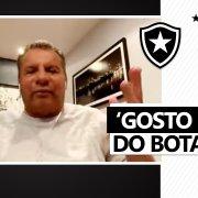 Celso Roth se declara ao Botafogo: 'Gosto muito. Trabalhei lá e me senti em casa. Tomara que volte porque faz falta' 🖤🏠