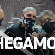 VÍDEO: Botafogo é recebido pela torcida na chegada a Maceió