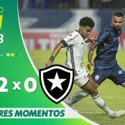 VÍDEO: Gols e melhores momentos da derrota do Botafogo para o CSA