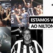 Torcida do Botafogo publica vídeo para festejar volta ao Nilton Santos e faz homenagem póstuma a alvinegros 🏟️🙏🏽