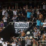 Contra o Avaí, Botafogo aposta em promoção de ingressos para driblar dificuldades de torcedores