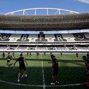 Botafogo escalado com Douglas Borges, Jonathan Lemos, Jonathan Silva e Warley para encarar o CRB
