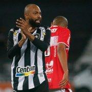 Chay exalta torcida do Botafogo: 'O estádio estava lindo, me arrepiei'