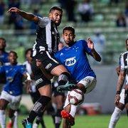 Botafogo deve comemorar o pontinho ganho diante do Cruzeiro