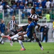 Após empate com Botafogo, jogadores do Cruzeiro anunciam greve por salários atrasados