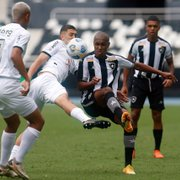 Botafogo empata sem gols com o Atlético-MG no primeiro duelo quartas de final do Brasileiro Sub-20