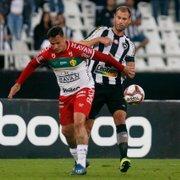 Carli engata maior sequência na Série B, e Botafogo com ele tem 83% de aproveitamento
