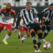 Rafael Navarro comemora vitória do Botafogo na Série B: 'Voltamos a jogar o futebol que a gente jogava'