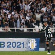 Análise: após início encaixotado, Enderson abre o time e tudo flui na vitória do Botafogo sobre o Brusque