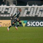 Rafael Navarro participa diretamente de 44% dos gols do Botafogo e lidera quesito na Série B