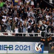 Botafogo passa de 90% de chances de subir após vitória sobre o Brusque