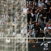 Marco Antônio fecha a conta e dedica vitória à torcida do Botafogo: 'Incentivou do início ao fim'