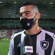 Barreto vê empate do Botafogo com Cruzeiro 'de bom tamanho': 'Temos mais rodadas para buscar a liderança'