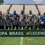 Botafogo empata com o Cruzeiro e garante classificação na Copa Brasil Legends de Futebol Master