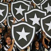 Botafogo celebra alcance e 3º lugar no ranking mensal de visualizações no TikTok