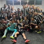 Base: Botafogo vence Macaé por 3 a 0 e se classifica na Taça Guanabara Sub-17