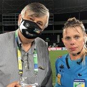 Botafogo pede desculpas formais à auxiliar Katiuscia Mendonça após ofensas machistas de parte da torcida