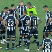 Botafogo começa mal mês decisivo e vê pressão aumentar na Série B