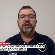 Enderson ressalta química com Freeland para explicar rápida adaptação no Botafogo: 'Pensamos muito parecido'