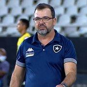 Enderson prega respeito máximo ao Cruzeiro, próximo rival do Botafogo: 'Cresceu com o Luxemburgo'