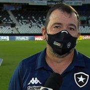 Enderson elogia atuação do Botafogo e destaca apoio da torcida na vitória sobre o CRB: 'Foi determinante'