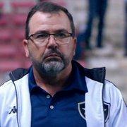 Aproveitamento fora de casa do Botafogo sobe com Enderson Moreira, mas postura ainda não empolga