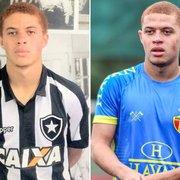 Hoje no Brusque, cria Foguinho reencontra Botafogo e guarda boas recordações da base: 'Me deu oportunidade de crescer no futebol'