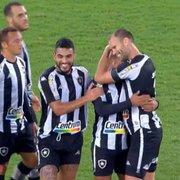 Após vitória sobre o Brusque, Botafogo chega a quase 94% de chances de acesso e 35% de título na Série B