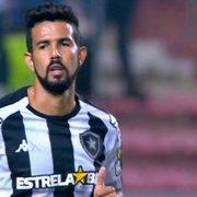 Jonathan Lemos recupera espaço e celebra chance no Botafogo: 'Muito motivado e feliz'