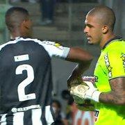Comentarista: 'Partida foi importante para o Diego Loureiro. Fez mais jogos bons que ruins no Botafogo'