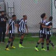 Botafogo arranca empate com Corinthians no fim e vai enfrentar o Atlético-MG nas quartas do Brasileiro Sub-20