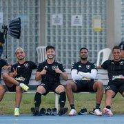 VÍDEO: Botafogo treina no Estádio Nilton Santos na preparação para jogo com Brusque
