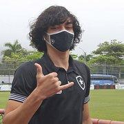 Usado também na base, Matheus Nascimento jogou 43 minutos com Enderson no Botafogo
