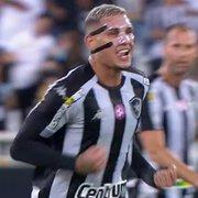 Técnico do Botafogo elogia Rafael Navarro, artilheiro diante do Brusque: 'Torcemos para que permaneça'