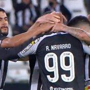Comentarista: 'Botafogo fez partida estupenda. É encantador acompanhar esse time'