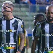 Com primeiro tempo apático, Botafogo passa longe da vitória contra o Cruzeiro, mas soma um ponto