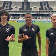 Botafogo escalado para enfrentar o Atlético-MG pelas quartas de final do Brasileiro Sub-20