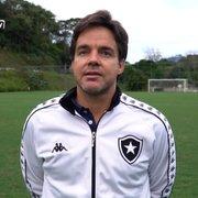 Gerente da base celebra campanha do Botafogo no Brasileiro Sub-20 e elogia reestruturação do clube: 'Melhor a cada dia'