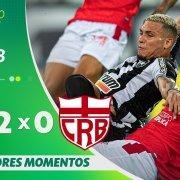 VÍDEO: Gols e melhores momentos da vitória do Botafogo sobre o CRB no Nilton Santos